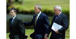 Bush wins EU support for NATO aid to Iraq
