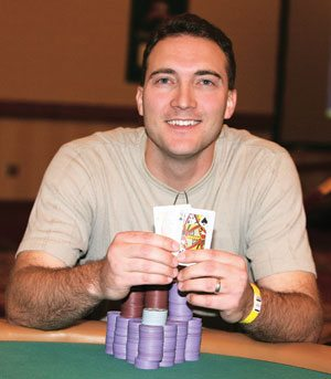 Local wins seat at poker's 'Main Event'