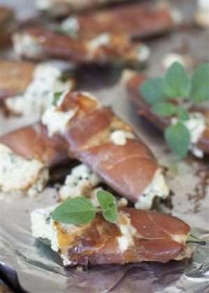 Food Healthy Prosciutto Poppers