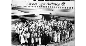 America West prepares for Tuesday merger with US Airways