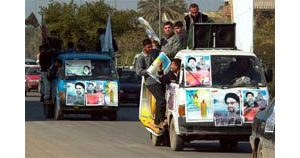 Iraqi insurgents attack polling stations