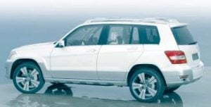 2010 Mercedez-Benz GLK