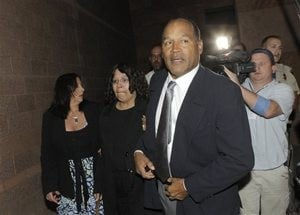 Las Vegas jury find O.J. Simpson guilty