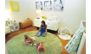 Babys room trends toward more mod, less gender-specific 