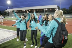 Chandler girls track wins 2010 Nike national championship