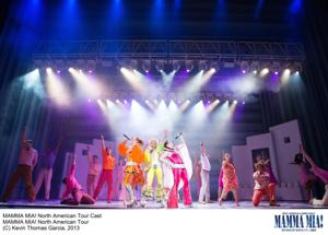 'Mamma Mia!' production at ASUGammage