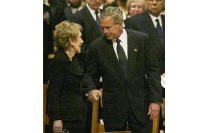 U.S., world bid final farewell to Reagan
