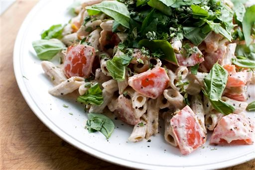 Food-Healthy-Summer Pasta