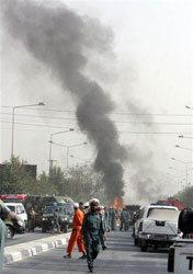 Afghan suicide attack kills US soldier