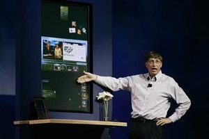 Gates highlights Windows Vista program