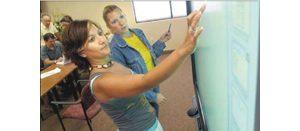 Teaching goes high tech