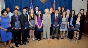 Intel Science and Engineering Fair qualifiers