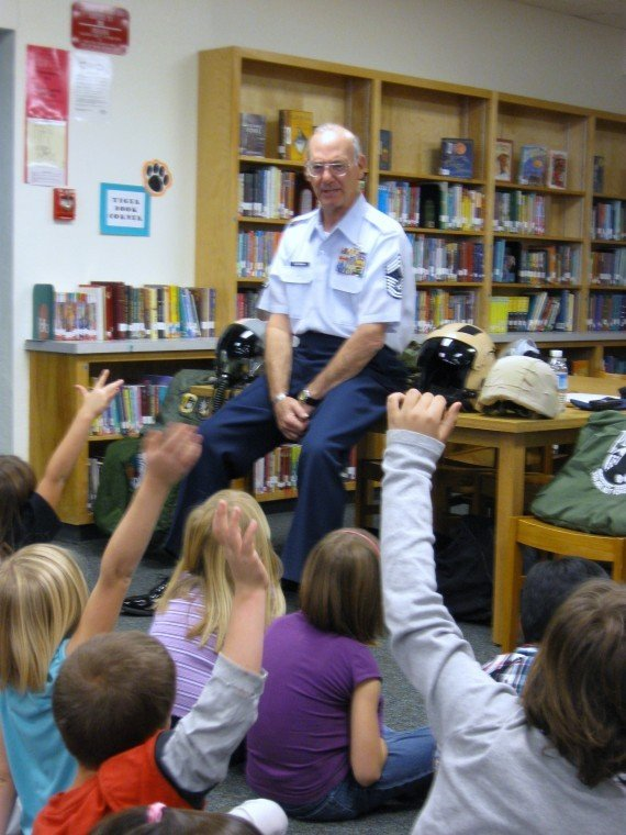 Veterans in classrooms