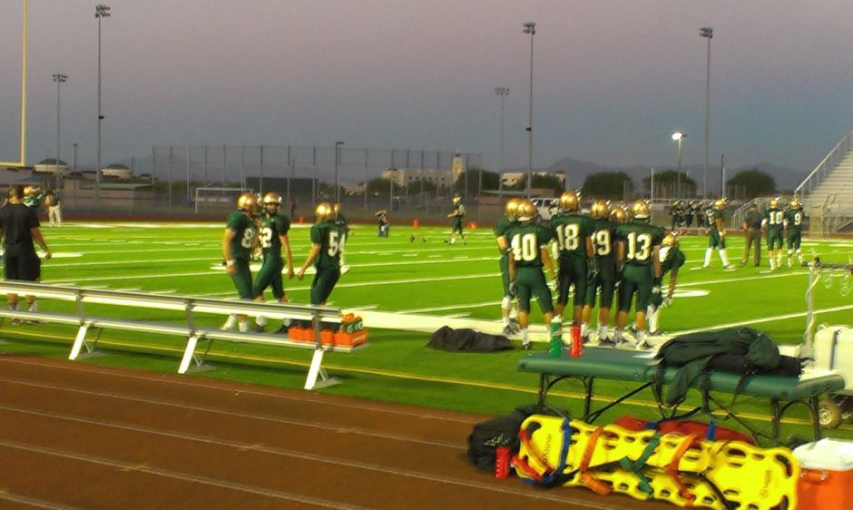 Campo Verde vs. Highland football