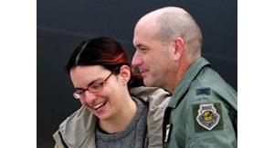 Freed U.S. journalist lands in Germany