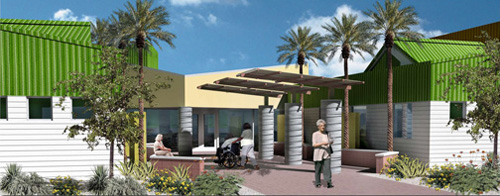 Marc Center rendering