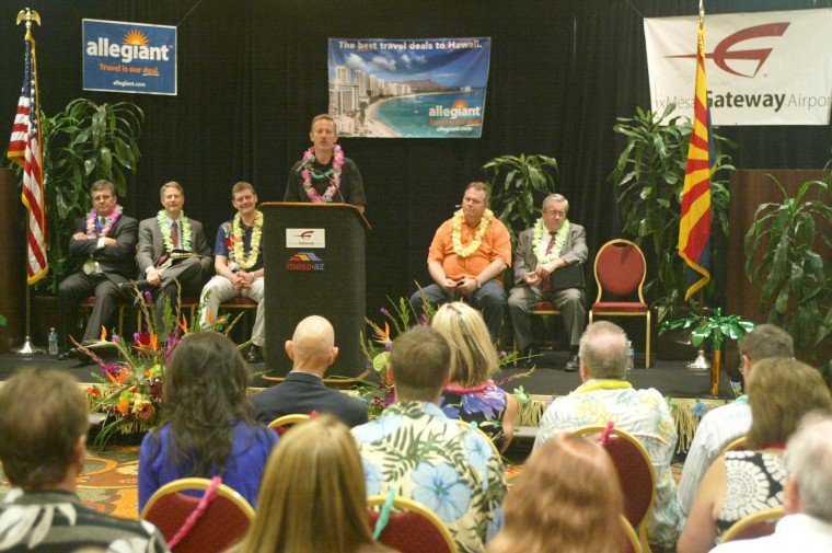 Allegiant to fly to Hawaii