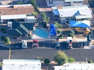 Apache Junction near drowning