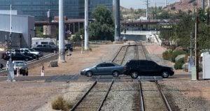 Drivers, get a clue! Train crossings dangerous
