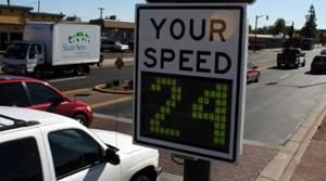 Mesa considering signs, lights to slow drivers