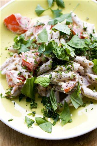 Food-Healthy-Summer Pasta