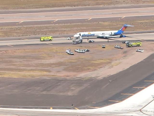 Allegiant Airline flight evacuated