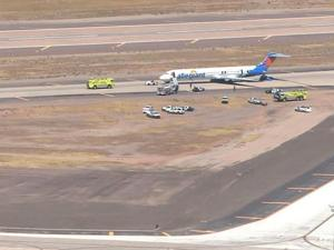 Allegiant Airline flight evacuated