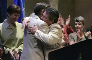 Court makes Conn. 3rd state to allow gay marriage