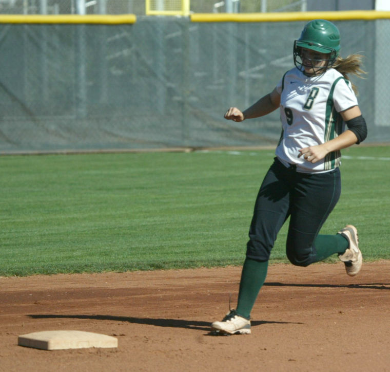 Basha at Perry Softball 4/2/2013