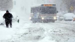 Blizzard-like storm slams East, region snowed in
