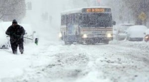 Blizzard-like storm slams East, region snowed in