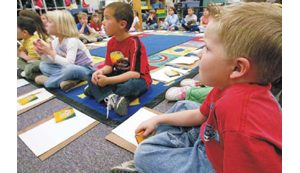 Schools in competition for kindergartners