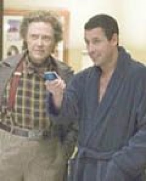 Sandler is remotely interesting in 'Click'