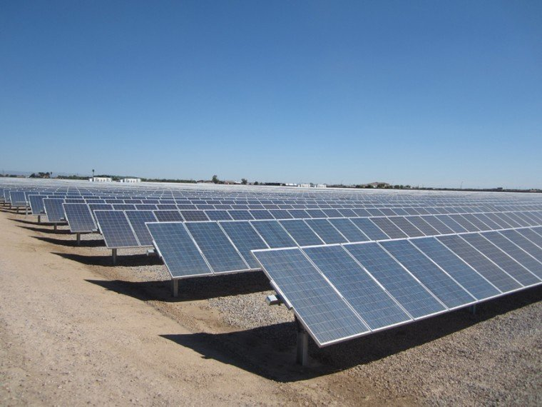 Queen Creek Solar Plant