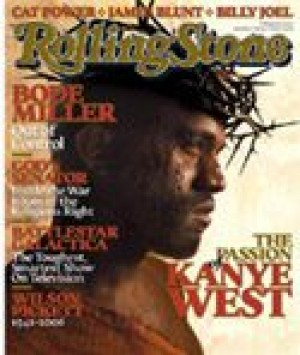West poses as Jesus for Rolling Stone