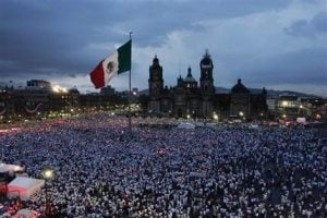 Mexican leader meets anti-crime march organizers