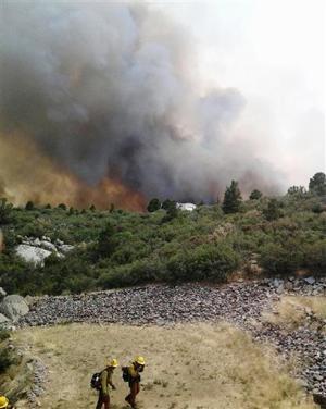 Firefighters Killed Arizona Wildfires