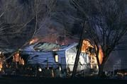 Grass fires char homes in Oklahoma, Texas