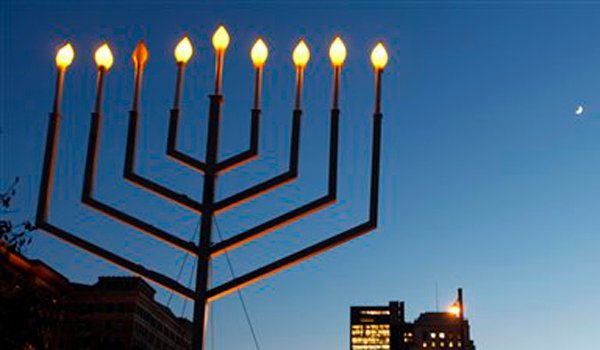 Large Menorah
