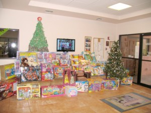 AFM donates toys to Salvation Army