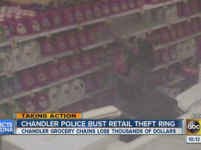 Chandler retail thefts