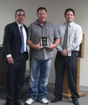 Apache Junction police officer honored