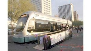 Valley, meet your light-rail vehicle