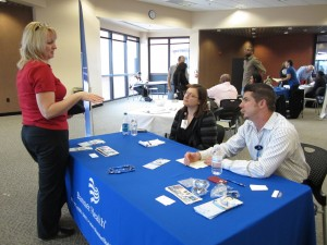 Health care job fair