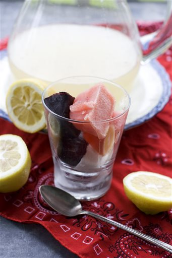 Food-Healthy-Patriotic Lemonade