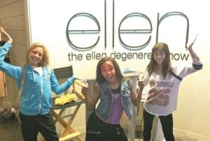 Local dancers perform on Ellen Show