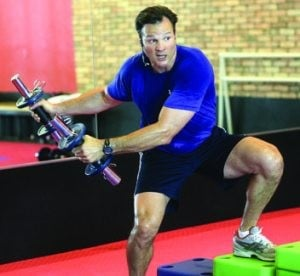 Ex-hockey pro gives his all to exercise invention