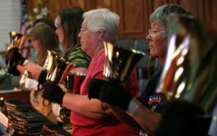 Mesa hand bell choir takes ministry to Disneyland