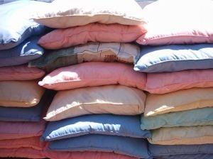 Pillows for the homeless