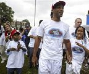 Will Smith marches against violence